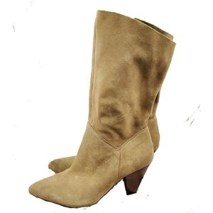NWOB Steve Madden Suede Leather Boots